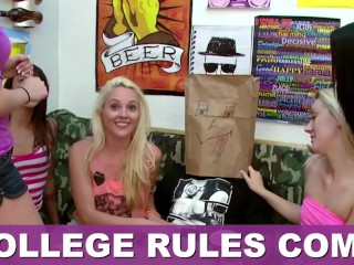 COLLEGE RULES - Collection Of Teen Sluts Fucking Frat Boys In The Dorms