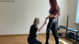 Facesitting Lesbian Domination