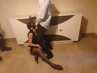 My wife takes 2 big loads of cum by me and my intern