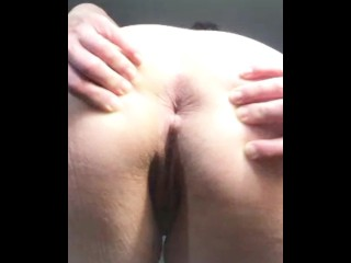 I'll hold my holes open - go ahead and jerk off