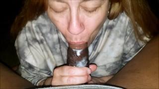 Granny Took a Mouth Full Of Cum