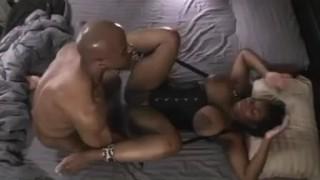 Sexy Ebony Milf Tied Up & Fucked