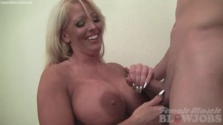 Amazon Alura Jensen Takes a Load of Cum to the Giant Tits
