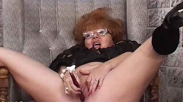 redhead bbw granny rough fucked