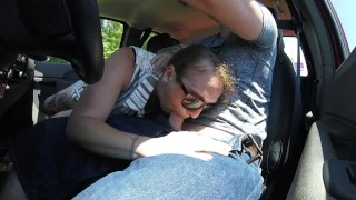 getting road head an she swallows my whole load