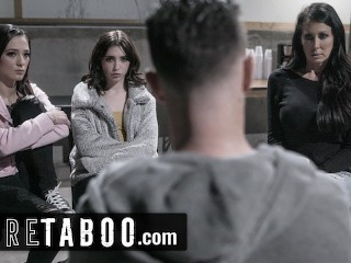 PURE TABOO Support Group Orgy with Seth Gamble, Reagan Foxx, Jaye Summers, and Jane Wilde