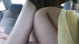 Stranger fuck dogging wife in our car