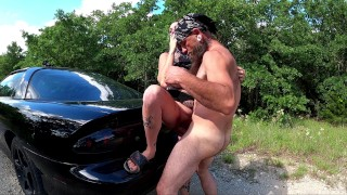 Chassidy Lynn - 4k, Smoking Milf, Public, Horny Milf Cant Wait To Pull Over And Fuck