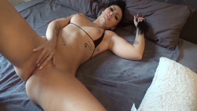 Orgasm ruined - squirted all over and left lying around