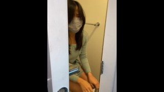 TWOSETDUET - Chinese Step Sister FUCKED ON THE TOILET