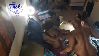2 guys 2 girls - Licking Pussy Ebony Whore