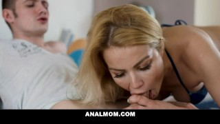 Anal Sex Lover Cherry Kiss Fucks Step Son for his Birthday