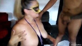 Esposa Puta Super Culona Mamando 4 Vergas En El Club Swinger 3 Contacto Por WP 3323491920