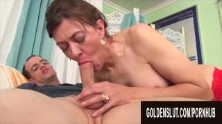 Golden Slut - Big Tittied Aunties Giving Head Compilation