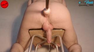 EXTREME LONG ORGASM (my PR) - Fucking machine prostate milking