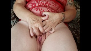 Using new toy fast and hard on wife while she cums