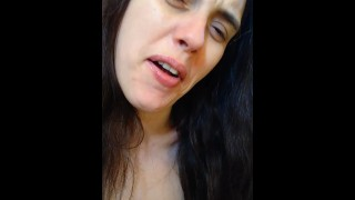 PinkMoonLust Can't EVEN! I QUIT! Camgirl Stutters Throws a Verbal Fit Trying to Ask Questions