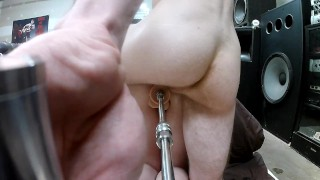 first time destroying tiny wifey DP sex machine more to come