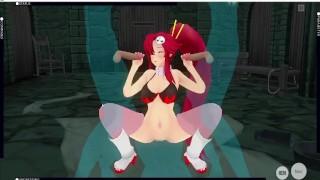 [CM3D2] Gurren Lagann hentai - Quick gangbang for Yoko Littner