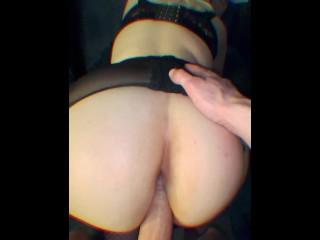 Part II blonde petite gros cul orgasm en lingerie française
