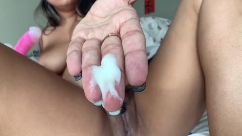 Com creamy pussy Creamy