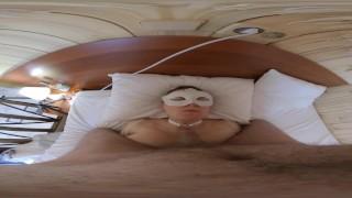Amateur cum to mouth in 3d VR POV