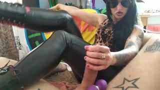 PART2-Amazing Katrix torture penis with extreme cum shot orgasm