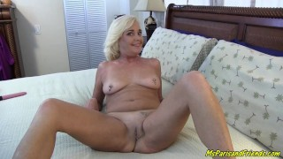 Sexy Hot Blonde Milf Wants Her Cunt to Be Their First
