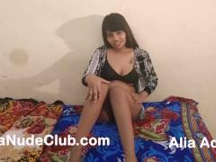 Desi Telugu Girl Alia Advani Bollywood Stripping Squirting
