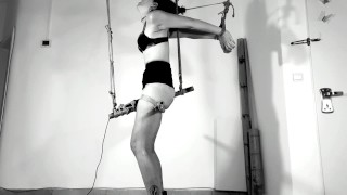 YOU WOULD CUM UNTIL YOU CAN'T STAND - Tied up to her magic wand to a non stop orgasm