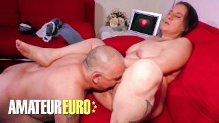DEUTSCHLANDREPORT - FAT ASS GERMAN MATURE HARDCORE PUSSY POUNDING