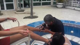 latina teen enslavefor shoe licking