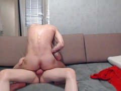 Russian guys fuck each other in the shower and after