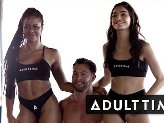 ADULT TIME - Working With Us | BTS July 4th Photoshoot