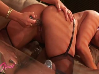 Girl Grind – Hot Babes Carmen Pena & Marquette Jewel Love To Play With Each Other & Their Toys