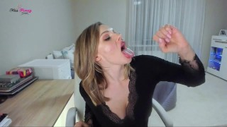 You'd love to swallow cummies for Miss Honey