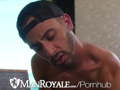 ManRoyale Multiple Hunks Swallow Big Dicks