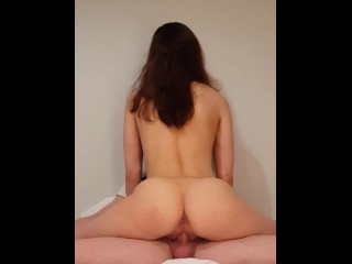 My Roommate didn't know I'm Recording. Instant cum in Pussy
