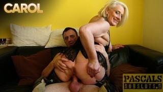 PASCALSSUBSLUTS - Submissive Mature Carol Anal Fucked Hard