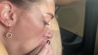 extreme deepthroat blowjob from random fellow traveler