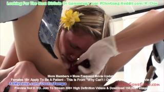 $CLOV MILF Nurse Carissa Montgomery Helps Lesbian Couple Taylor Raz & Rene Phoenix Achieve Orgasm!!!