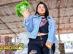 CARNEDELMERCADO - BIG TITS CHUBBY COLOMBIAN BABE PICKED UP AND FUCKED FULL SCENE