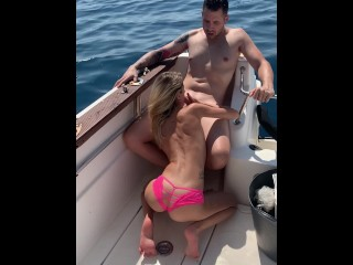 threesome on the boat