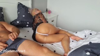 Stepmom-My Stepson fucked me hard in my mouth and destroyed my pussy