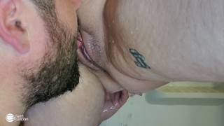 Mary was Taking a Shower so I Decided to Join & Fuck her from Behind!