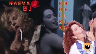 MAEVA DREAM & ERIKA BELLA Let Her Finish CUMPILATION Handjob Titjob CAR Blowjob - Angel Hard 1995