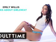 ADULT TIME - Emily Willis Talks About Girlsway bengali homemade sex