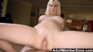 AdultMemberZone - Cherry Torn's Pussy Spreads For A Rock-Hard Cock