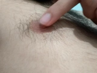 hairy nipples from a young bear
