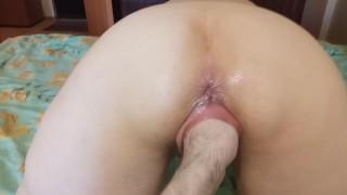 Russian slut MILF love big size. Moaning loud real cums & hard fisting.